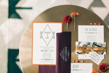 Midcentury Modern Desert Wedding Made Of Boho Dreams | Vienna Glenn 37