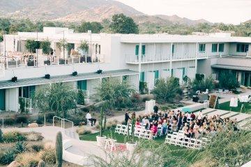 Midcentury Modern Desert Wedding Made Of Boho Dreams | Vienna Glenn 42