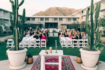 Midcentury Modern Desert Wedding Made Of Boho Dreams | Vienna Glenn 44