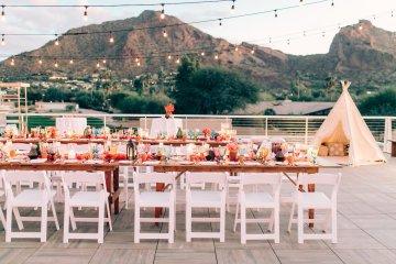 Midcentury Modern Desert Wedding Made Of Boho Dreams | Vienna Glenn 57