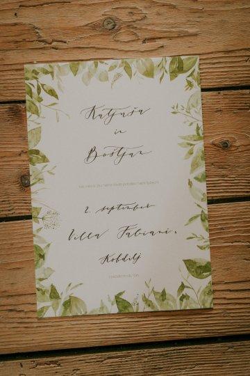Monstera Leaves & Artichokes; A Hip Slovenian Wedding   Karen Willis Holmes Bridal   Aljosa Videtic 15
