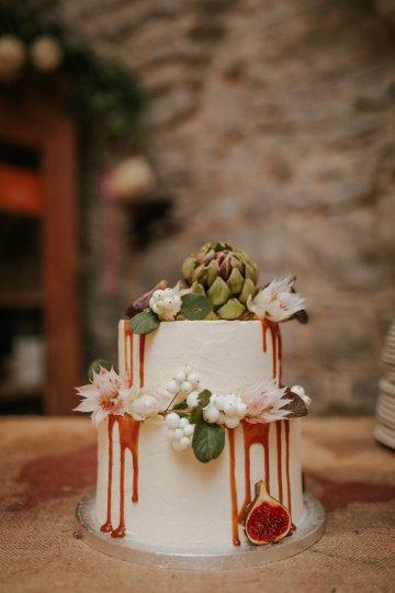 Monstera Leaves & Artichokes; A Hip Slovenian Wedding   Karen Willis Holmes Bridal   Aljosa Videtic 36