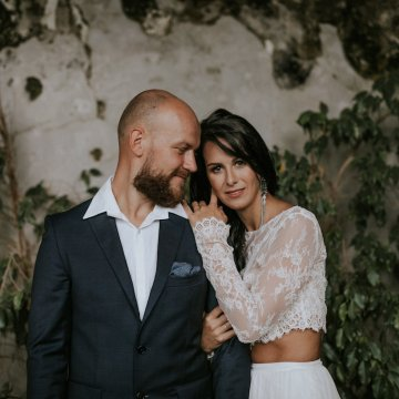 Monstera Leaves & Artichokes; A Hip Slovenian Wedding | Karen Willis Holmes Bridal | Aljosa Videtic 9