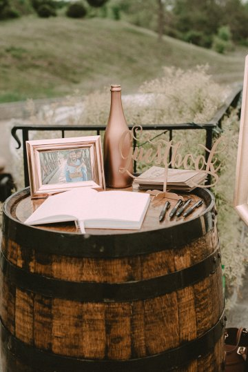 Pretty Pink Countryside Wedding (With Cute Aisle Signage) | Barkerture Photo 24