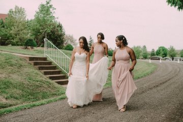 Pretty Pink Countryside Wedding (With Cute Aisle Signage) | Barkerture Photo 4