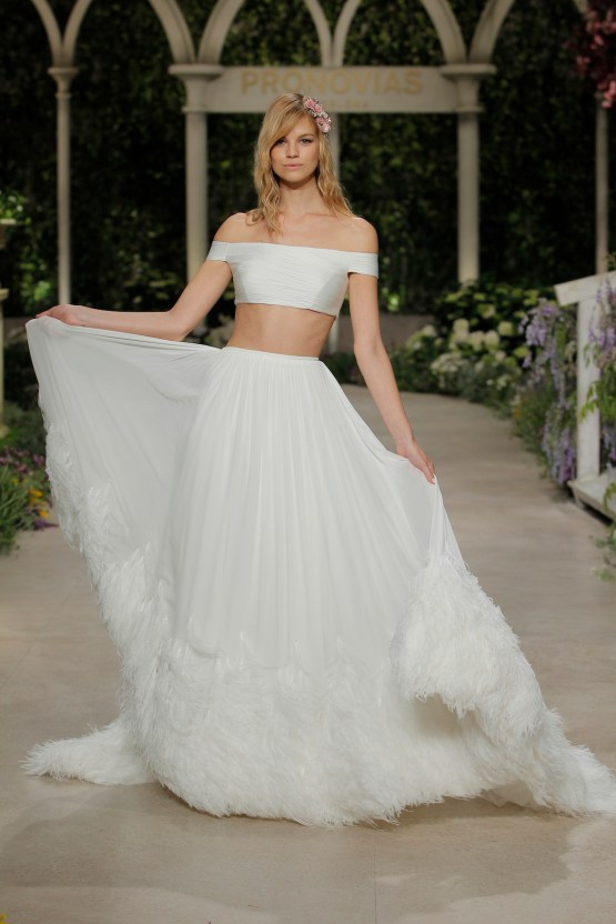 Pronovias 2019 In Bloom Wedding Dress Collection | Caoba