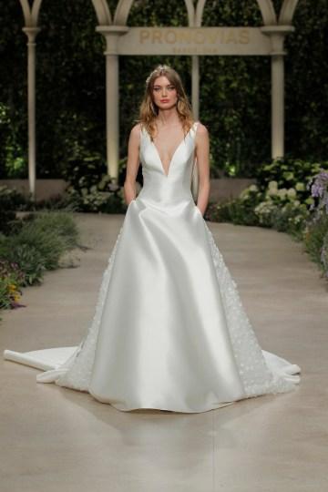 Pronovias 2019 In Bloom Wedding Dress Collection | Castel