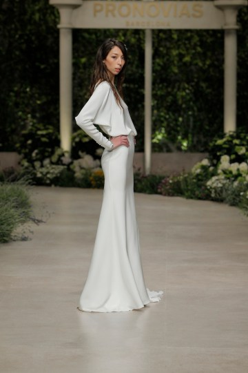 Pronovias 2019 In Bloom Wedding Dress Collection | Caterina