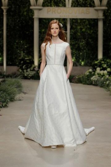 Pronovias 2019 In Bloom Wedding Dress Collection | Christine