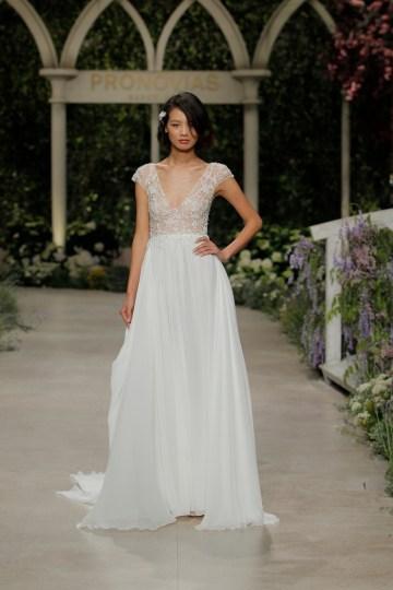 Pronovias 2019 In Bloom Wedding Dress Collection | Constanza