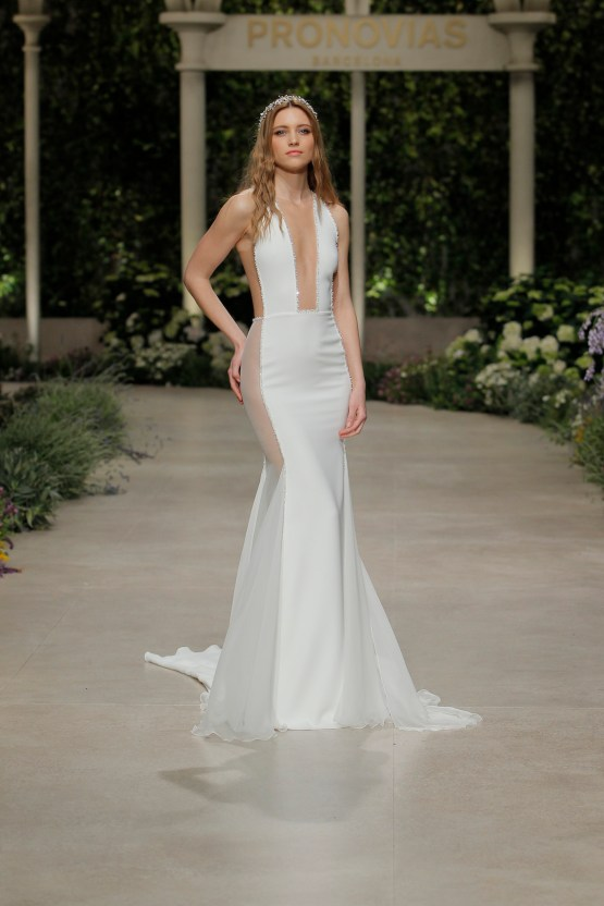 Pronovias 2019 In Bloom Wedding Dress Collection | Corfu