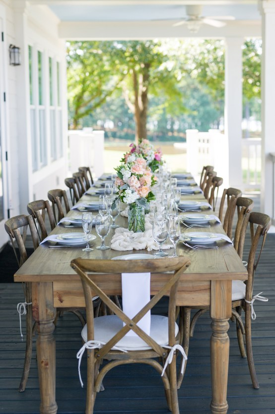 Sweet & Intimate Southern Brunch Wedding | Laura Barnes Wedding 10