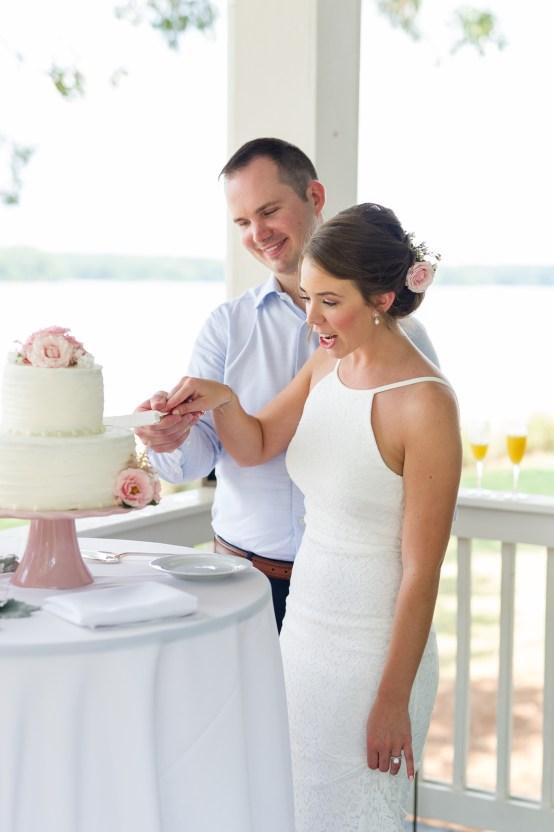 Sweet & Intimate Southern Brunch Wedding | Laura Barnes Wedding 26