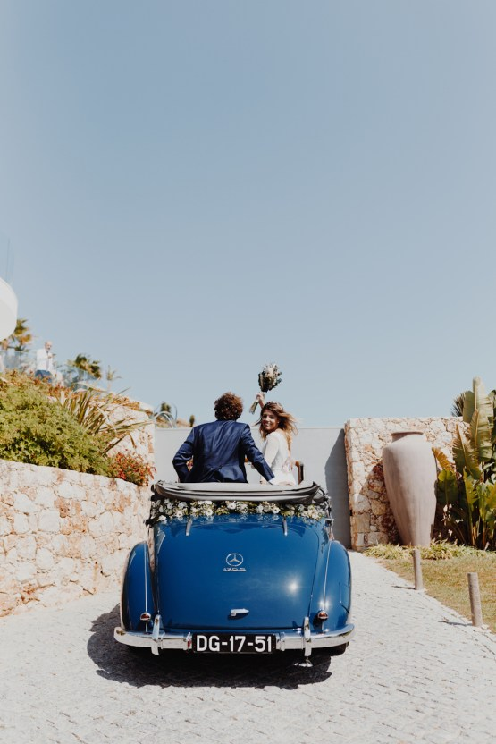 9 Guests 2 Dogs on a Beach in Portugal – A Wedding Film   Vanessa & Ivo 16