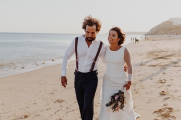 9 Guests 2 Dogs on a Beach in Portugal – A Wedding Film | Vanessa & Ivo 28