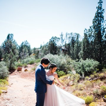 Casual Sedona Red Rocks Wedding (With A Sweet Blush Wedding Dress) | Julia Kinnunen Photography 14