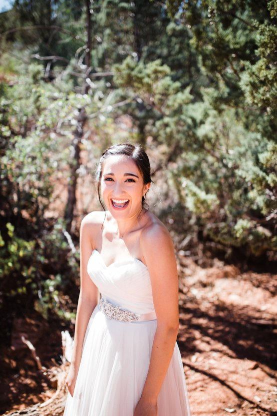Casual Sedona Red Rocks Wedding (With A Sweet Blush Wedding Dress) | Julia Kinnunen Photography 15