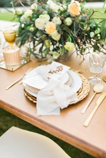 Earthy Organic Seaside Wedding Inspiration (& A Nude Wedding Dress) | George Liopetas 31