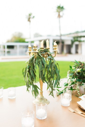 Earthy Organic Seaside Wedding Inspiration (& A Nude Wedding Dress) | George Liopetas 34