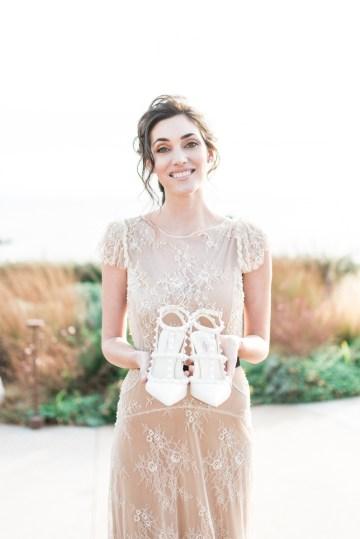 Earthy Organic Seaside Wedding Inspiration (& A Nude Wedding Dress) | George Liopetas 9