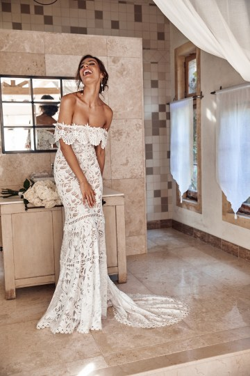 Free-Spirited Bohemian Icon Wedding Dress Collection by Graces Loves Lace | Cien 3