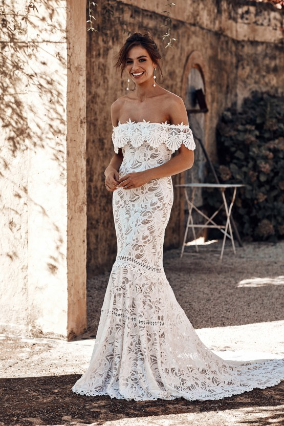 Free-Spirited Bohemian Icon Wedding Dress Collection by Graces Loves Lace | Dominga 2