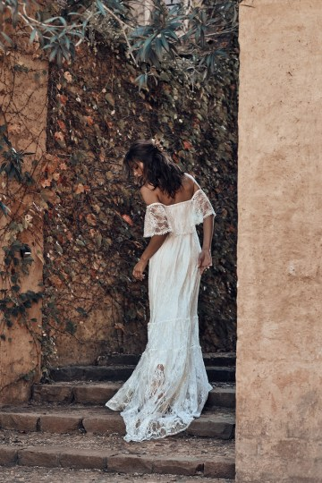 Free-Spirited Bohemian Icon Wedding Dress Collection by Graces Loves Lace | Franca 2