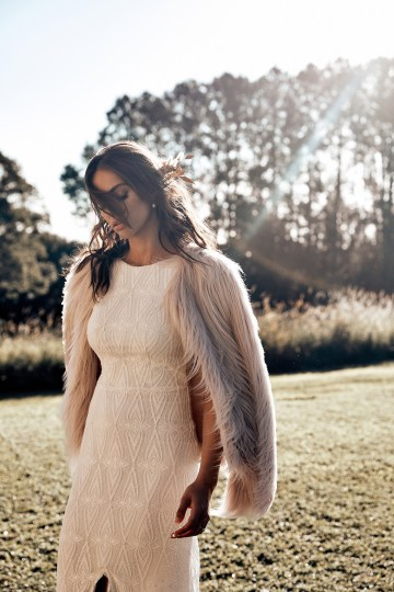 Free-Spirited Bohemian Icon Wedding Dress Collection by Graces Loves Lace | Leon 1