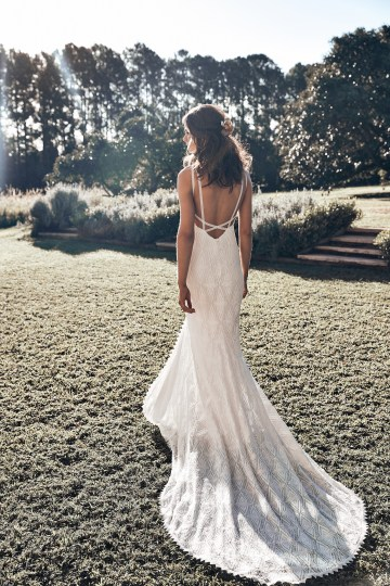 Free-Spirited Bohemian Icon Wedding Dress Collection by Graces Loves Lace | Leon 2
