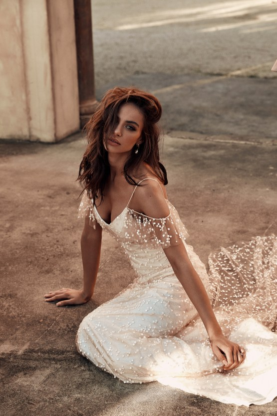 Free-Spirited Bohemian Icon Wedding Dress Collection by Graces Loves Lace | Marloe 1