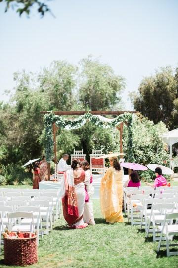 Hindu American Fusion Wedding (With Peonies) | Bramble and Vine 16
