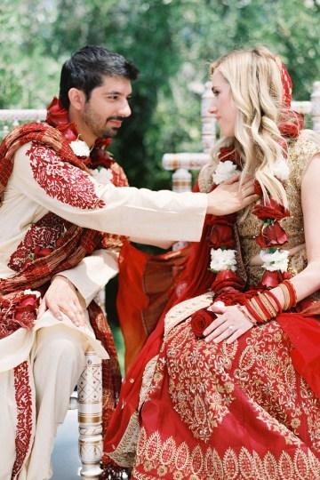 Hindu American Fusion Wedding (With Peonies) | Bramble and Vine 18