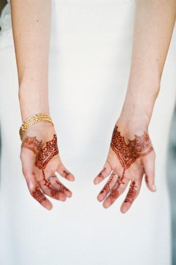 Hindu American Fusion Wedding (With Peonies) | Bramble and Vine 26