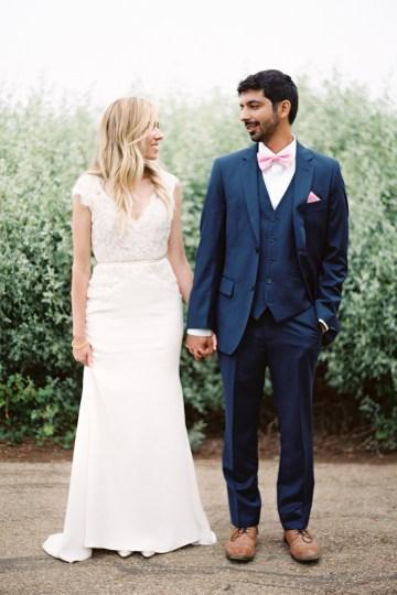 Hindu American Fusion Wedding (With Peonies) | Bramble and Vine 44