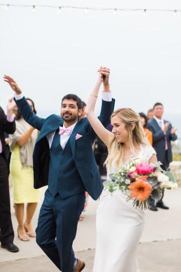 Hindu American Fusion Wedding (With Peonies) | Bramble and Vine 47