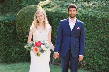 Hindu American Fusion Wedding (With Peonies) | Bramble and Vine 53