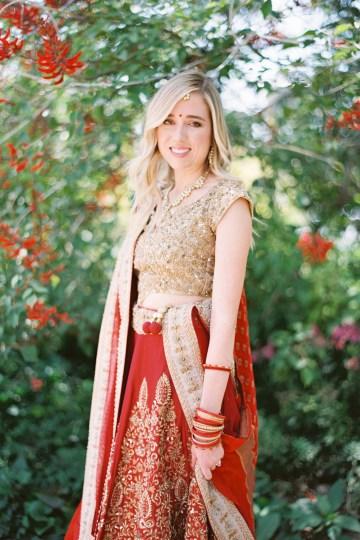 Hindu American Fusion Wedding (With Peonies) | Bramble and Vine 6
