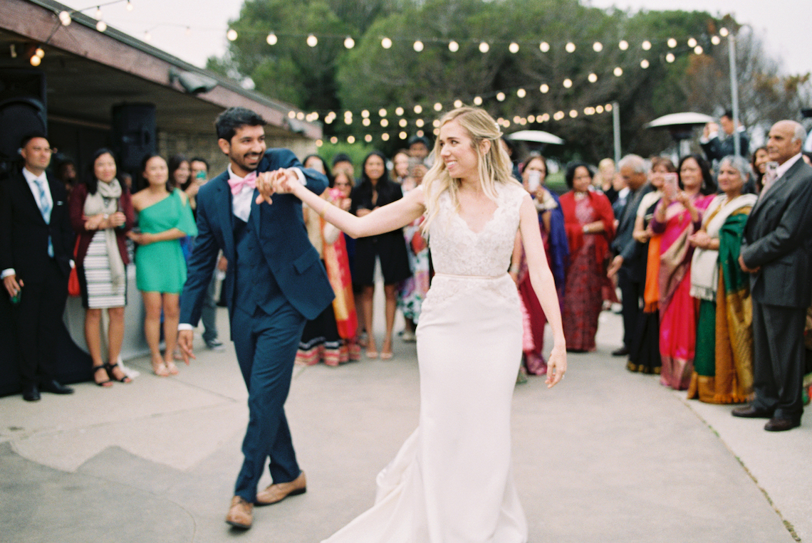 Hindu American Fusion Wedding (With Peonies) | Bramble and Vine 61
