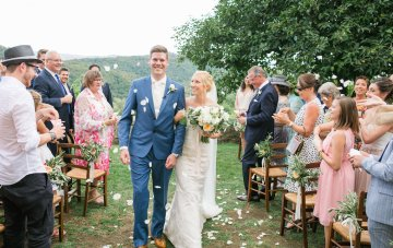 Intimate Al Fresco Wedding At A Tuscan Winery