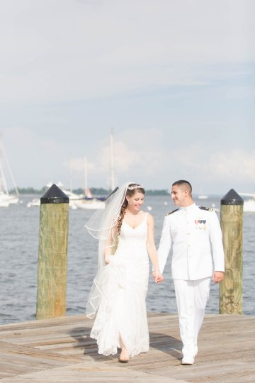 Nautical Military Wedding | Susie & Becky 47