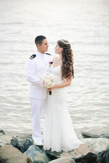 Nautical Military Wedding | Susie & Becky 56