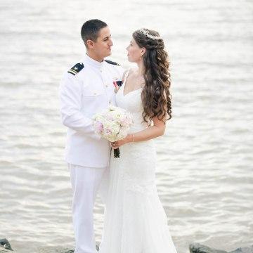 Nautical Military Wedding | Susie & Becky 56