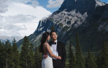 Regal, Disney-Inspired, Majestic Mountain Wedding