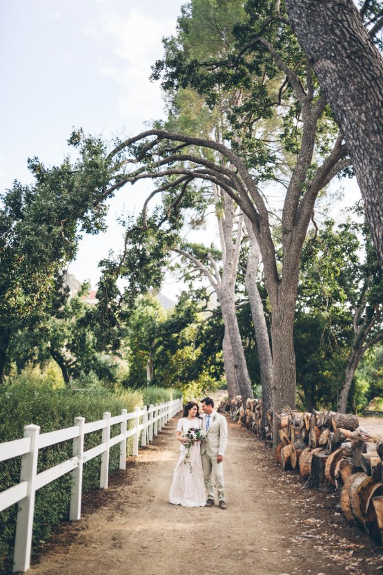 Rich & Rustic Malibu Mountains Ranch Wedding Inspiration | Vitae Weddings 24