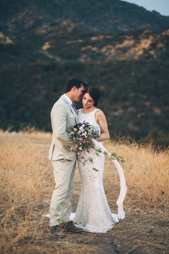 Rich & Rustic Malibu Mountains Ranch Wedding Inspiration | Vitae Weddings 37