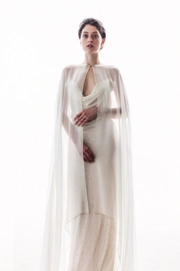 Sparkling Art Deco Wedding Inspiration From NYC | Mibellarosa | Jenny Fu Studio 10