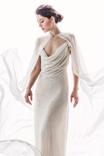 Sparkling Art Deco Wedding Inspiration From NYC | Mibellarosa | Jenny Fu Studio 11