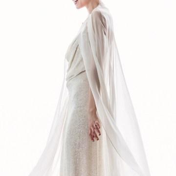Sparkling Art Deco Wedding Inspiration From NYC | Mibellarosa | Jenny Fu Studio 12