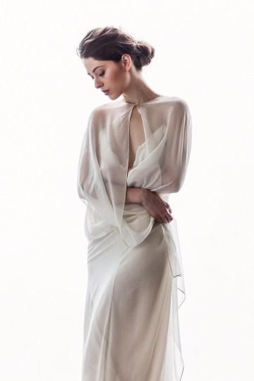Sparkling Art Deco Wedding Inspiration From NYC | Mibellarosa | Jenny Fu Studio 14