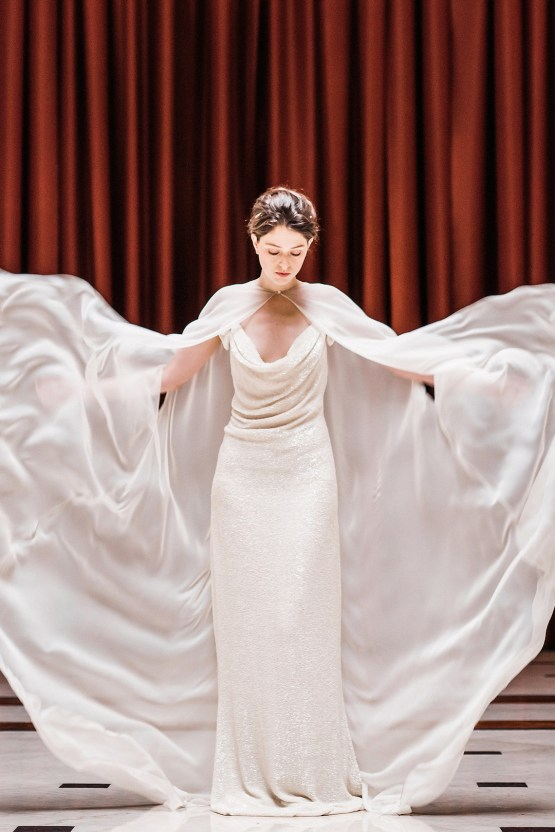 Sparkling Art Deco Wedding Inspiration From NYC | Mibellarosa | Jenny Fu Studio 15